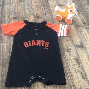 Adidas San Francisco Giants Romper 6-9 month